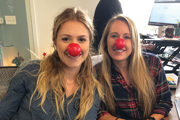 EZ Texting Celebrates Red Nose Day