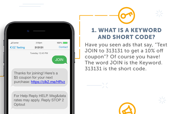 EZ Texting Customer Questions Keyword