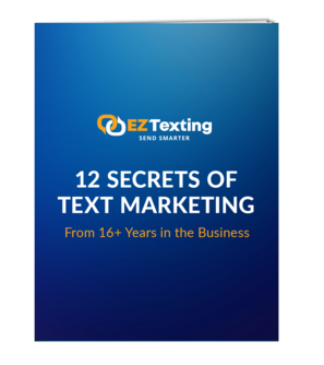 12 Secrets of Text Marketing Thumbnail
