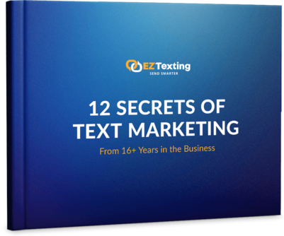12 Secrets of Text Marketing Mock